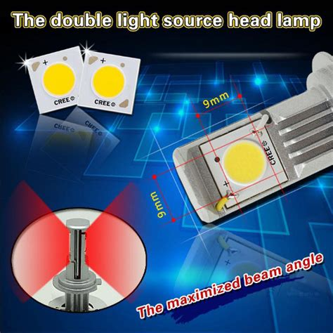 auto l led replacements super bright white h4 h l led headl replacement bulbs