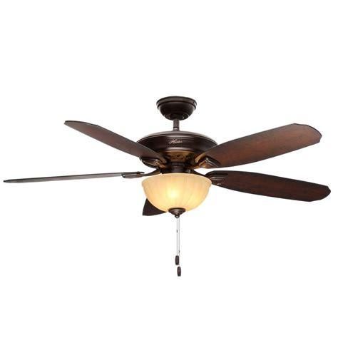 hunter 52 onyx bengal bronze ceiling fan hunter markley 56 in indoor onyx bengal bronze ceiling