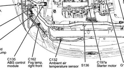 2007 Ford Fusion Ambient Air Temperature Sensor Location