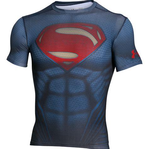 T Shirt Armour Superman 2 armour alter ego superman compression baselayer