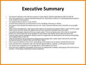 executive summary template for a project project summary template how is an executive summary