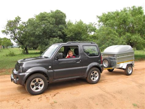 Suzuki Wrecker Towing With A Jimny