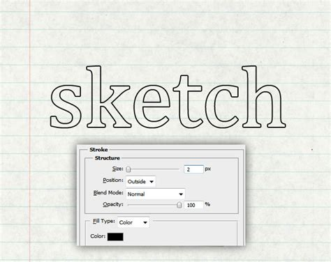 tutorial photoshop outline create a sketch text in photoshop photoshop tutorial