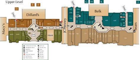Restaurant Floor Plan With Dimensions mall directory hanes mall