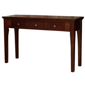 Mahogany Console Table Fraser Three Drawer Mahogany Console Sofa Table