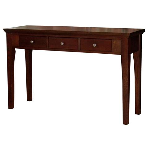 mahogany sofa tables fraser three drawer mahogany console sofa table