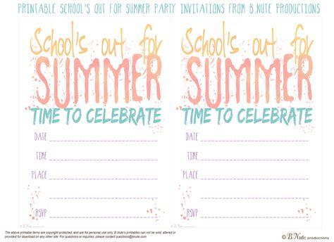 summer invitation templates free 5 best images of free printable summer invitations