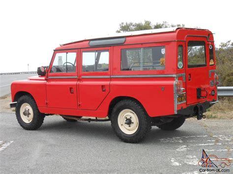 safari land rover for sale 1964 land rover 109 2a safari wagon