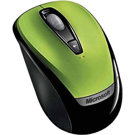 microsoft wireless mobile mouse 3000 microsoft wireless mobile mouse 3000 green 6ba00022 b h