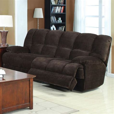 acme furniture ahearn casual sofa with motion sol