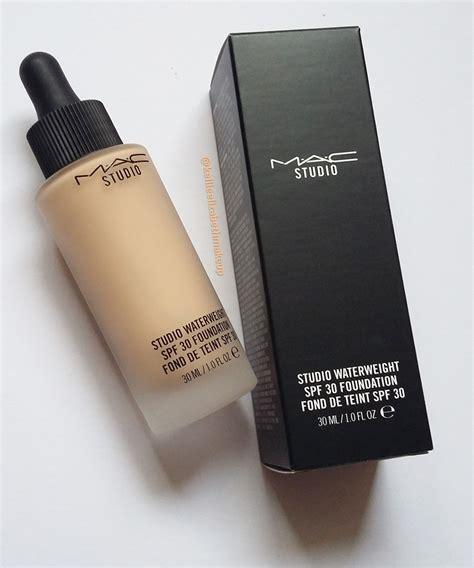 Mac Studio Waterweight Foundation kellie elizabeth makeup review mac studio waterweight