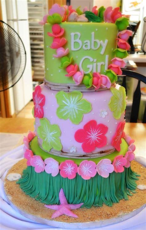 Hawaiian Themed Baby Shower Favors by Living Room Decorating Ideas Hawaiian Baby Shower Cake Ideas