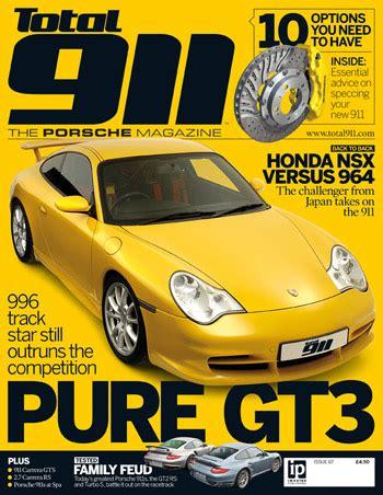 porsche magazin total 911 67 the issue of the best porsche