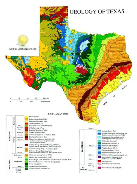 in texas map texas gold prospecting equipment tips gold maps