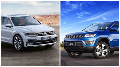 volkswagen jeep tiguan jeep compass vs volkswagen tiguan price features