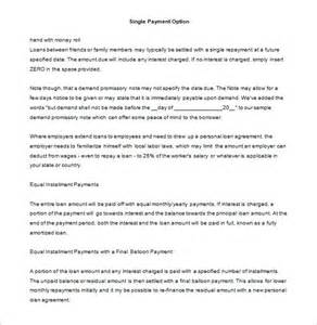 Personal Loan Promissory Note Template by Promissory Note Template 34 Free Word Pdf Format