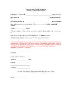 Partial Lien Waiver Template by Bill Of Sale Form Illinois Waiver Of Lien Templates