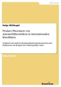 Product Placement In Books by Product Placement Automobilherstellern In