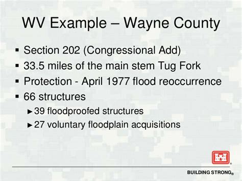 wayne county section 8 floodproofing methods that work in west virginia