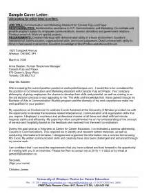 cover letter for dean position dean sle resumes