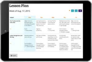 Early Childhood Education Lesson Plan Template by Himama Early Childhood Developmental Lesson Planning