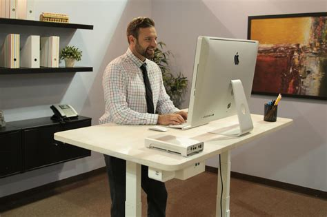 This Talking Desk Will Do Everything For You But Your Do Standing Desks Work