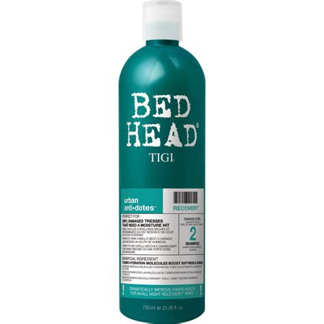 bed head tigi tigi bed head urban antidotes recovery shoo 750ml free shipping lookfantastic