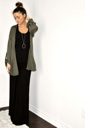 Wst 7390 Fringed Cardigan Black khaki cardigan how to wear and where to buy chictopia