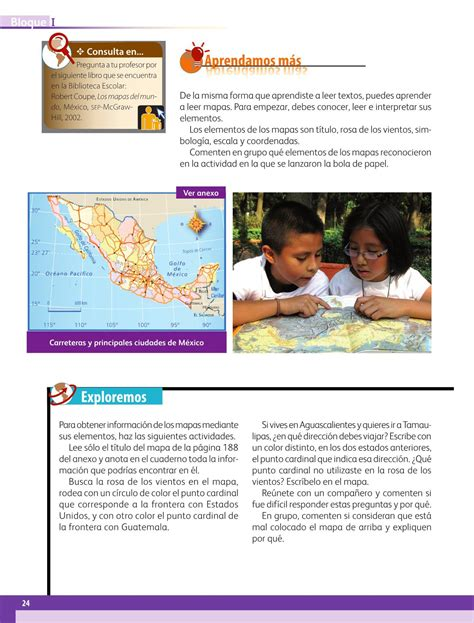 pagina 17 libro de 6 geografia 2016 2017 geograf 237 a cuarto grado 2016 2017 online p 225 gina 23 de