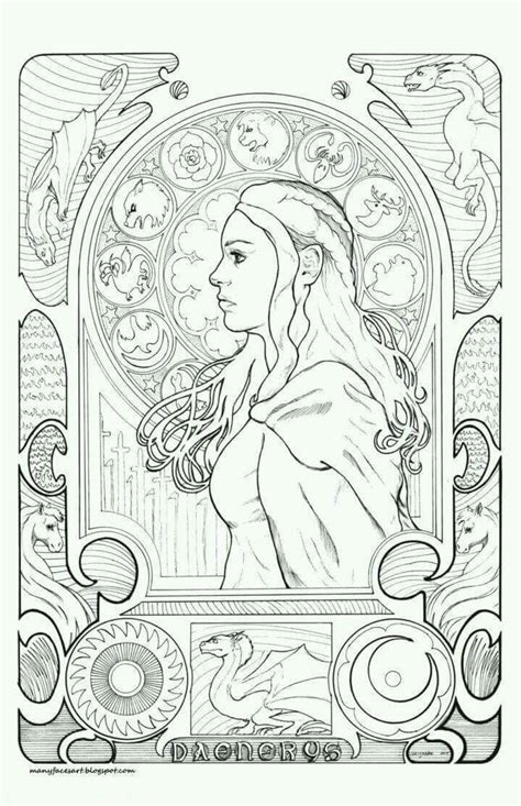 thrones colouring book indigo 10 best coloring pages images on coloring