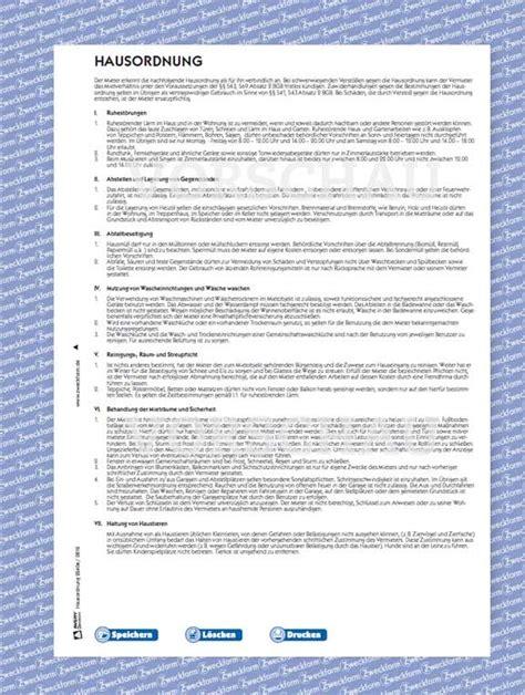 Muster Hausordnung Muster Hausordnung Regelt Rechte Und Pflichten Zweckform