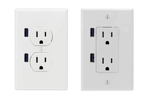 With Usb Outlets Jetson Green Usb U Socket Is People S Choice At Kbis