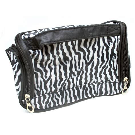 Dompet Kosmetik Pouch Cosmetic ms fashion makeup admission bag square zipper kotak kosmetik white black jakartanotebook