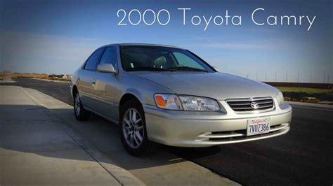 2000 toyota camry xle 3 0 l v6 road test review