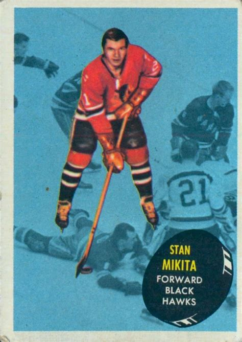 make a hockey card 17 best images about stan mikita tribute on