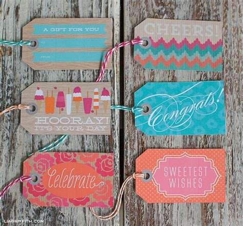 free printable gift tags summer free printable tags wrapping paper