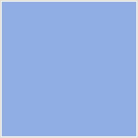 #8FACE3 Hex Color   RGB: 143, 172, 227   BLUE, DULL LAVENDER