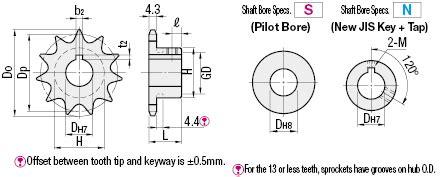 Roller Chainrantai Rs 35 2 Ss Stainless Steel Sus304 Ek Japan sprockets 35b series misumi misumi usa