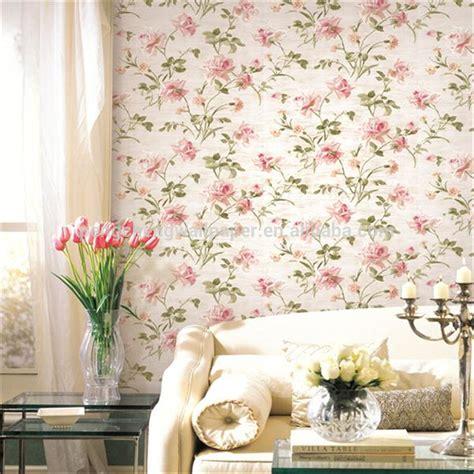 desain kamar floral 107 wallpaper dinding kamar nuansa pink wallpaper dinding