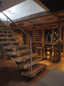 Dining Room Light Fixtures Traditional by Staircase Escalier Rustic Wine Cellar Montreal