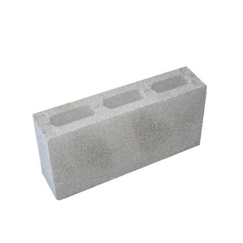 shop gray lightweight concrete block common 4 in x 8 in