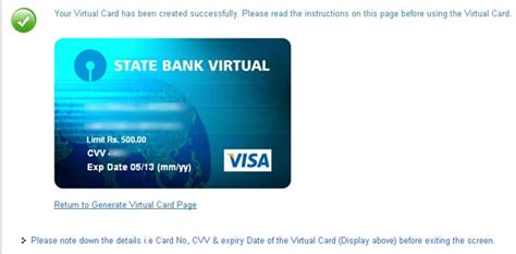 Send Virtual Visa Gift Card - how to use sbi virtual card vcc to pay online