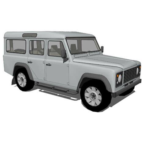 landrover 110 set 3d model formfonts 3d models textures