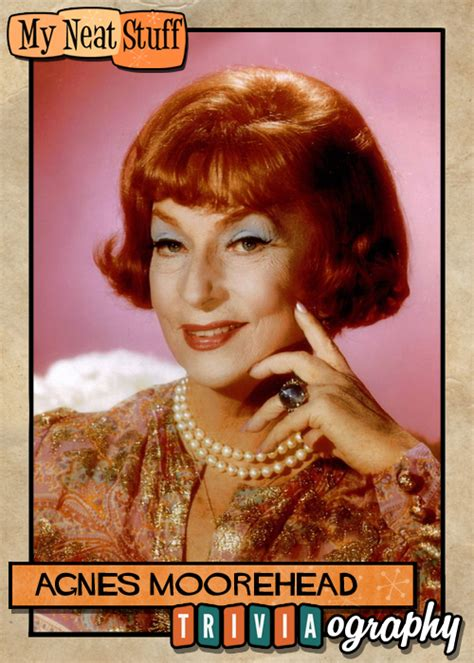 agnes moorehead on radio stage and television books my neat stuff webporium of fame