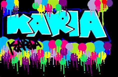 imagenes que digan te amo karla graffitis que digan karla te amo