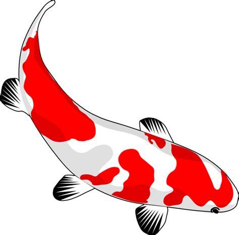 Koi Fish Clipart koi fish clip at clker vector clip royalty free domain