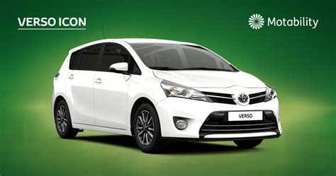 toyota verso offers verso icon motability offers toyota uk