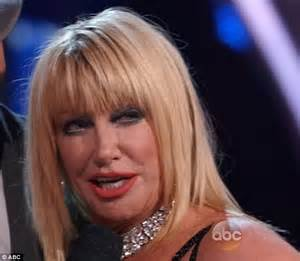 how hard is it to do suzanne somers hairstyle suzanne somers nearly quit dwts before her disney theme