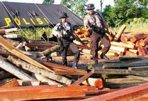 Undang Undang Kehutanan Dan Illegal Logging harga ekspor log yang tinggi rangsang illegal logging