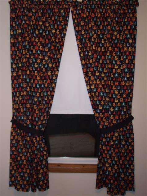 guitar curtains guitar curtains my doll clothes pinterest curtains